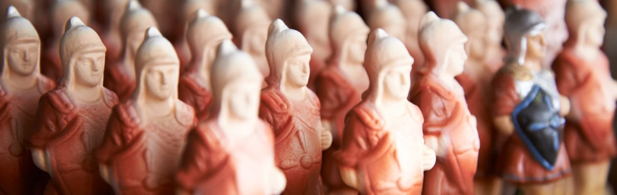 Nativity figures of the 3.5 inch size