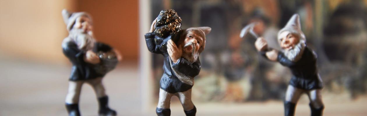 Miniaturen zum Sammeln