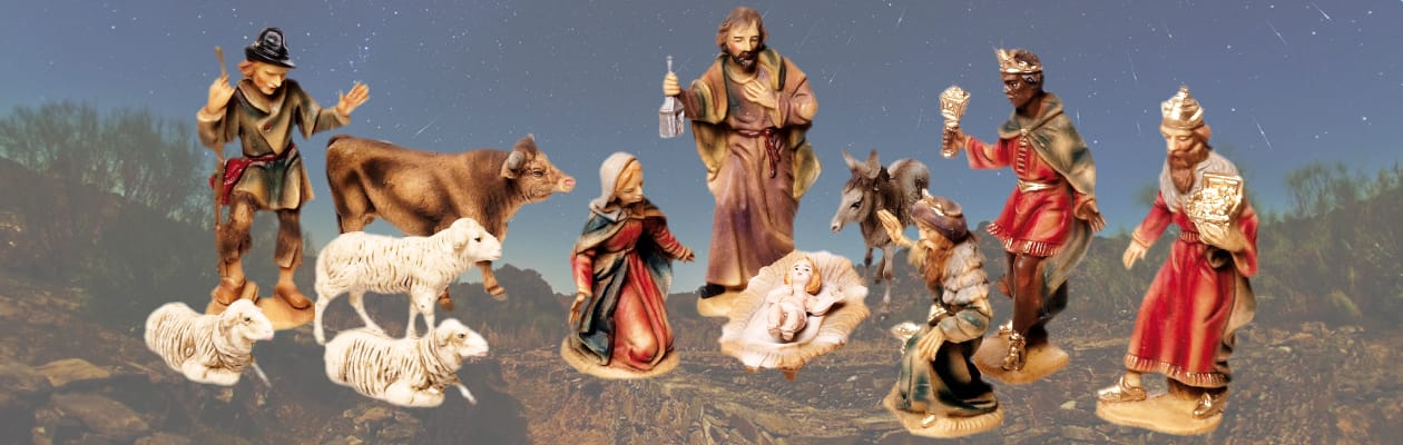 MAROLIN<sup>&reg;</sup> Plastik | Nativity 3.5 in. size